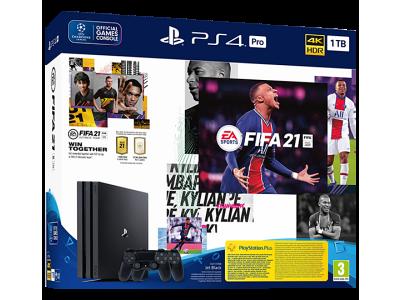 Sony PlayStation PS4 Pro 1TB + FIFA 21 + DS4