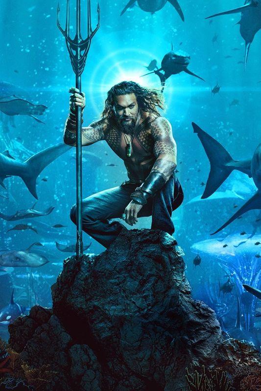 Kako filmski Aquaman naenkrat zbuja navdušenje in dvome