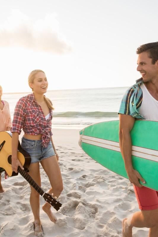 Kateri tip obiskovalca plaže ste?