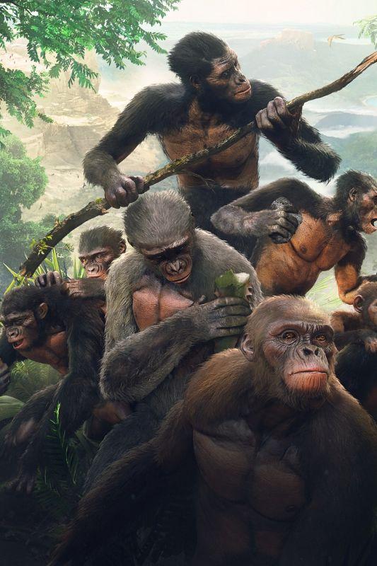 Lahko preživite neizprosno evolucijo od opičnjaka do človeka?