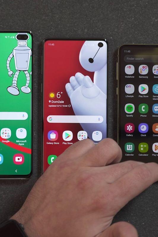 Trije mobilniki družine Samsung Galaxy S10 odpirajo nova mobilna obzorja